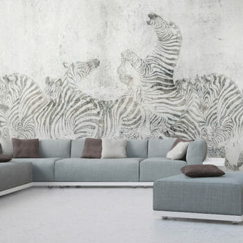 Modernes Interior Loft Apartment Panorama in 3D